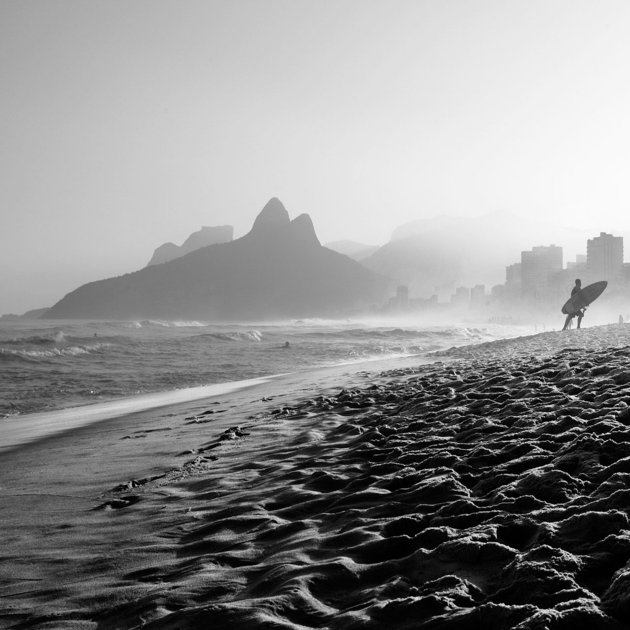 boys from ipanema   110 x 110 cm